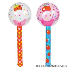 "36"" CUPCAKE LOLLIPOP INFLATE"