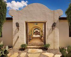 Spanish Hacienda Homes | Wimberley, Texas hacienda was built to honor the 17th century Spanish ...