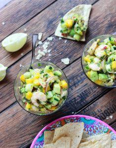 Shrimp Salad with Mango and Avocado