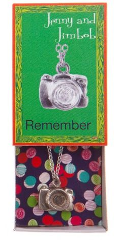 Remember - Camera necklace