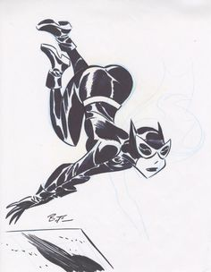 Catwoman by Bruce Timm Batman animated series, in Frederic L.'s TIMM Bruce Comic Art Gallery Room - 973802