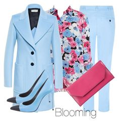 Spring mood by agency-blooming on Polyvore featuring polyvore, fashion, style, Jones New York, Balenciaga, Jaeger, Yves Saint Laurent, Atmos&Here and clothing