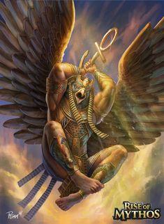 Horus Deus da visão e dos faraós