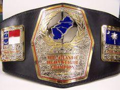 Mid Atlantic championship belt