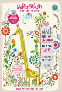 print & pattern: INDIGO PARIS 2014 - flyers