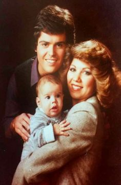 Donny, Debbie & their 1st child Jnr.