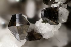 Anatase with Rutile - Plattenkogel south slope, Ankogel area, Ankogel group, Hohe Tauern, Carinthia, Austria Size: 1.94 mm