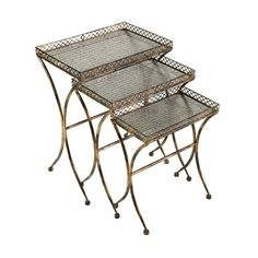 Imax Simone Side Tables Set Of Three On SALE