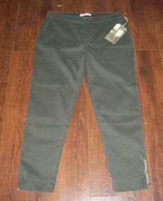 NWT HENRY & BELLE PETROL CHINO PANT GREEN, SZ 29. EXCELLENT CONDITION! #HENRYBELLE #KhakisChinos