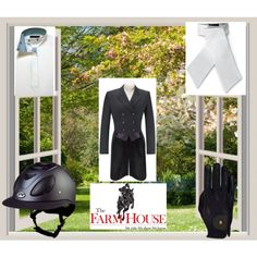 """""""Derby Ingate Essentials"""" by farmhousetack on Polyvore"""