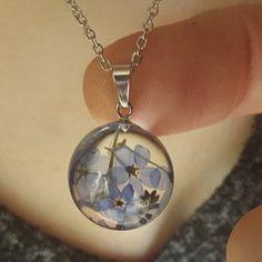 Dandelion necklace Real Dandelion jewelry Make a wish Lace Necklace, Resin Necklace, Floral Necklace, Resin Jewelry, Dangle Earrings, Jewelry For Her, Jewelry Making, Unique Necklaces, Unique Jewelry