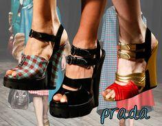 love these prada fall 2013 runway shoes... #fashion #shoeporn