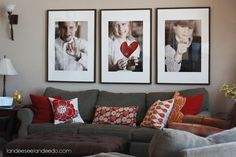 Decorating with Portraits at Landee See, Landee Do - Capturing Joy with Kristen Duke