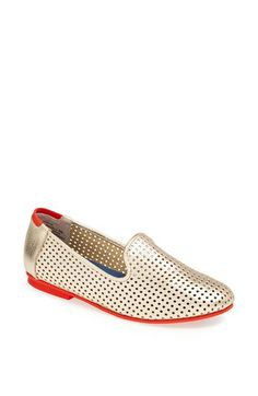Adam Tucker AT Collection 'Mantra 5' Perforated Flat available at #Nordstrom