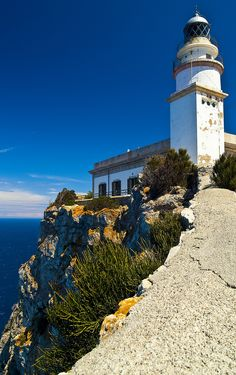 """""""Darkness reigns at the foot of the lighthouse"""" Formentor Lighthouse, Mallorca, Spain Menorca, The Places Youll Go, Places To See, Ibiza, Balearic Islands, Spain And Portugal, Tenerife, Wonders Of The World, Places To Travel"""