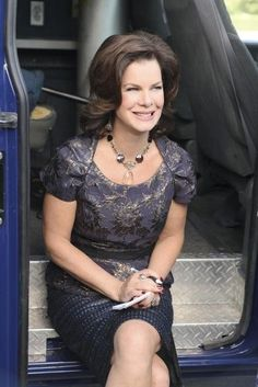 !Marcia Gay Harden Cast As Dr. Grace Trevelyan Grey, Christian Grey's Mother