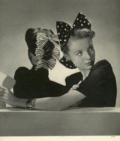 Vintage 1940s bows