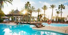Pool at Hotel Puente Romano, Marbella, Spain