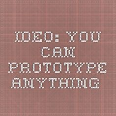 IDEO: You Can Prototype Anything Zine, Articles, Canning, Home Canning, Conservation