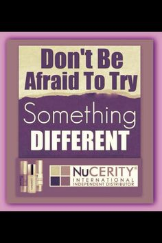 Need some extra cash or a plan b? Nucerity is a great company to work for with amazing products too!!! Contact me for more info!!
