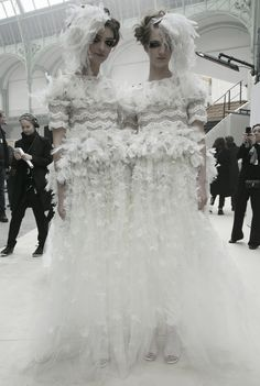 Chanel Haute Couture Spring/Summer 2013 Brides