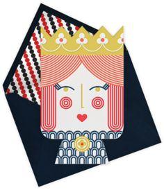 Little Queen, Jonathan Adler + Paperless Post