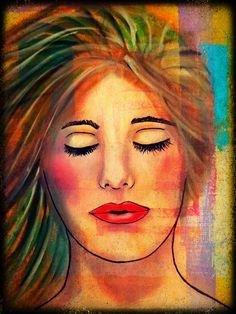 Hair Tutorial Videos for this print. Felicia Borges