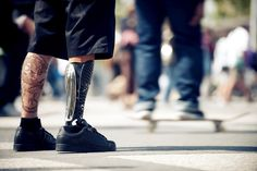 These Beautiful Customized 3D-Printed Prosthetic Legs Are Made to Be Seen Bespoke Fairings – Inhabitat - Green Design, Innovation, Architecture, Green Building