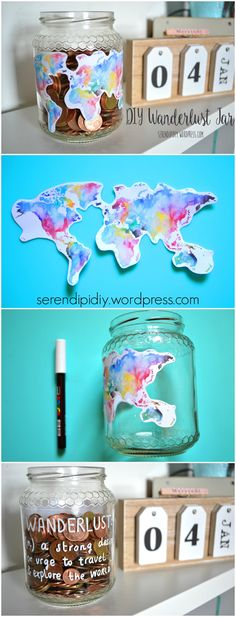 If you love travelling this DIY is for you!
