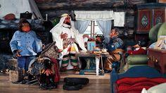 Sjeik Ben Redic Fy Fazan på besøk hos Reodor Felgen i Flaklypa Grand Prix Grand Prix, Stop Motion, Movies And Tv Shows, Childhood Memories, Norway, Animation, Studio, Painting, Puppets