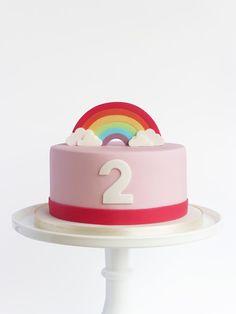 Peaceofcake ♥ Sweet Design: Rainbow Cake • Bolo Arco Íris