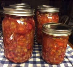 Canning Homemade!: Canning Rhubarb Pie Filling