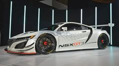 This aero-endowed beast is the new Honda NSX GT3