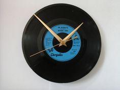 """Midge ure- no regrets   7""""  vinyl record clock  £6.99"""