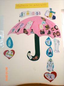 Την ιδέα της ομπρέλας τη βρήκα εδώ  και με βοήθησε πολύ για να στήσω το φετινό πρόγραμμα. Έπειτα έφτιαξα εικόνες και κάρτες . Βρήκαμε στο ...