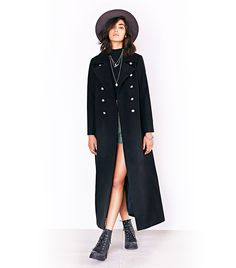 Duster Coat by Silence and Noise // #Shopping