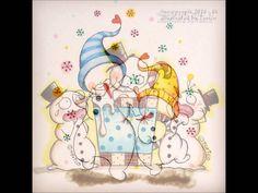 Snowpeople illustration Series 2014