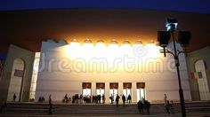 National Theatre Ion Luca Caragiale in Bucharest, Romania night - people coming to entry. Romania People, Bucharest Romania, National Theatre, Broadway Shows, Scene, Architecture, Night, Image, Arquitetura