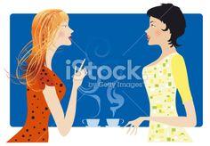 Gossip Royalty Free Stock Vector Art Illustration