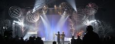Spheres and Trees | Church Stage Design Ideas