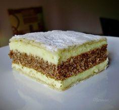 European Dishes, Eastern European Recipes, Romanian Desserts, Romanian Food, Cake Bars, Torte Recepti, Cake Recipes, Dessert Recipes, Czech Recipes