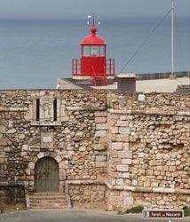 Nazare, Portugal lighthouse