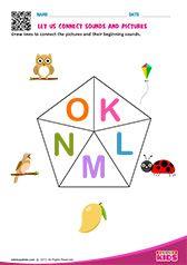 Phonic Match K to O Shapes Worksheet Kindergarten, English Worksheets For Kindergarten, Kindergarten Books, Phonics Worksheets, Lkg Worksheets, English Activities, Tracing Worksheets, Preschool Phonics, Preschool Writing