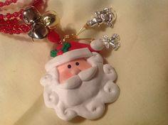 Lanyard Necklace Handmade Hand Beaded Christmas by BOONEDOCK27, $9.00