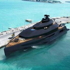 #luxuryyachtblack #LuxuryGoals
