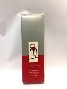 SteadySticks Wineglass Holder For Outdoors Picnics Stainless Steel  #SteadySticks
