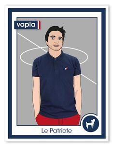 Présentation Le Patriote Vapla, le polo homme en édition limitée