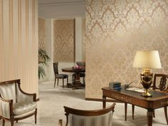 wohnzimmer tapeten luxuriöse wandtapeten