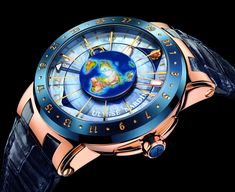 Ulysse Nardin Moonstruck won the Watch with Complications in Movement Award 2009