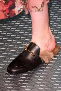 2dde14b96b88 Gucci Shoes At Milan Fashion Week Fall Winter 2015 2016